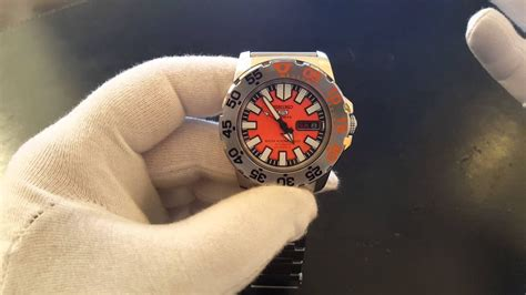 "Seiko 5 Sports ""Baby Monster"" Automatic Dive Watch"