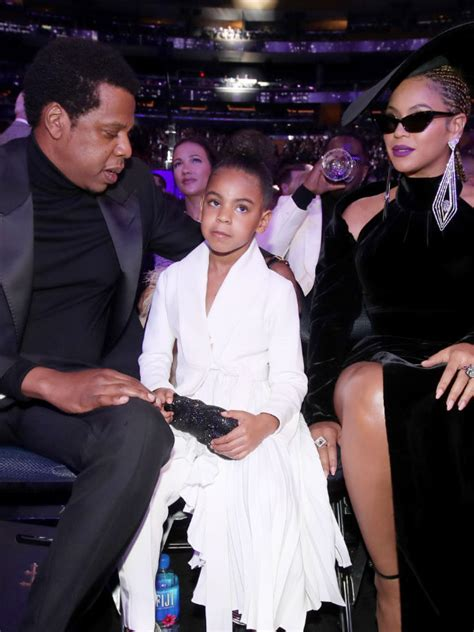 Beyonce and Jay Z's Blue Ivy Carter caught SHUSHING them