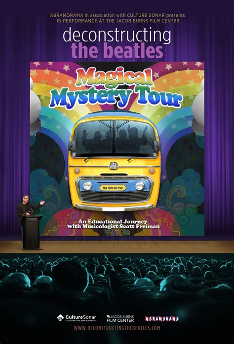 Deconstructing The Beatles' Magical Mystery Tour   The