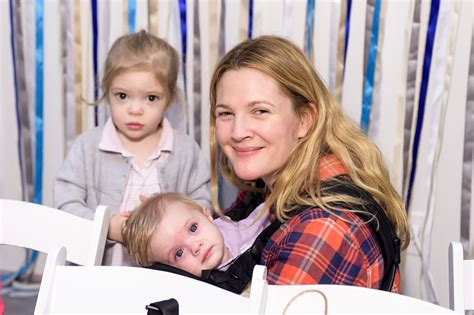Drew Barrymore Cute Family Pictures   POPSUGAR Celebrity