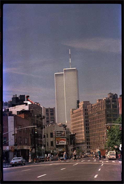 world trade center – Black and White Street Photographs of