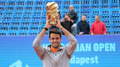 Berrettini Wins Hungarian Open In Budapest - Tennis TourTalk