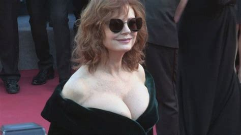 Susan Sarandon Wows on Cannes Red Carpet After Sharing