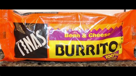 Tina's Bean & Cheese Burrito Review - YouTube