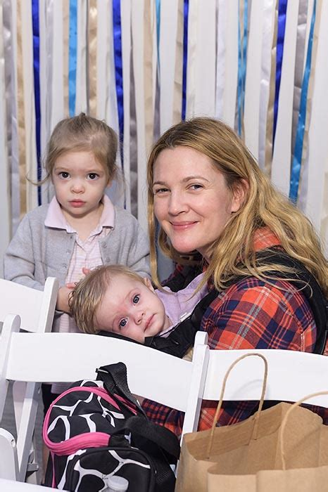 Drew Barrymore takes baby to Christmas party   HELLO!