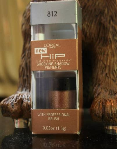 Review: Loreal HIP Shocking Shadow Pigments - Carizza Chua