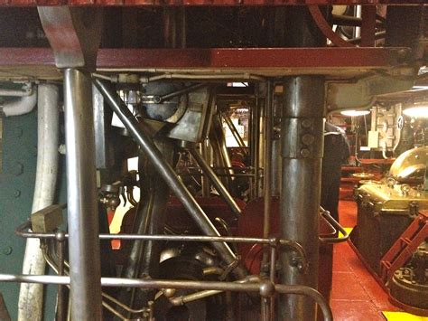 USS Olympia, Engine Room, Cranks and Cams | Shall Not Be