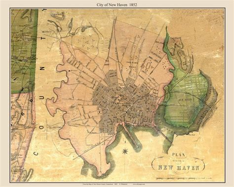 Old Maps of New Haven County, CT Retail