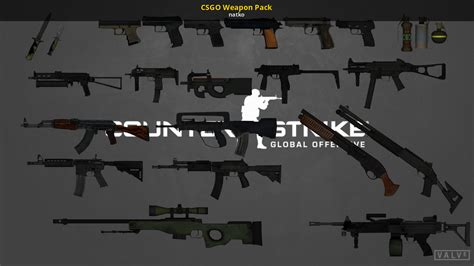 CSGO Weapon Pack (Counter-Strike: Source > Skins > Packs