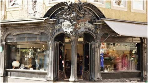 A splendorous collection of Art Nouveau storefronts from