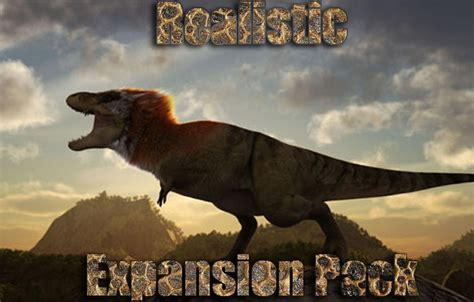 Realistic Expansion Pack mod for Jurassic Park: Operation