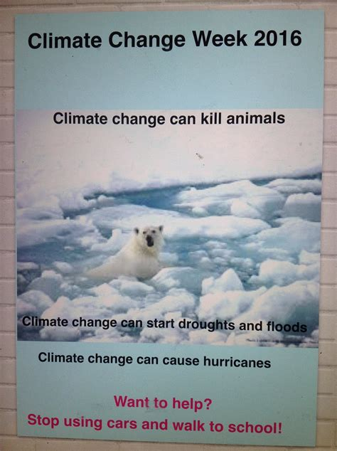 Climate Change | Boarshaw Primary School