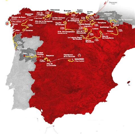 Vuelta 2020: Route and stages