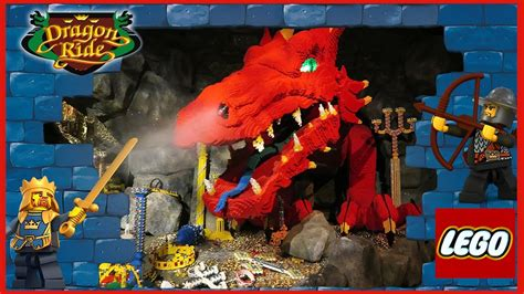 THE DRAGON EXTREME RIDE 🐉 KNIGHTS KINGDOM ⚔ LEGOLAND