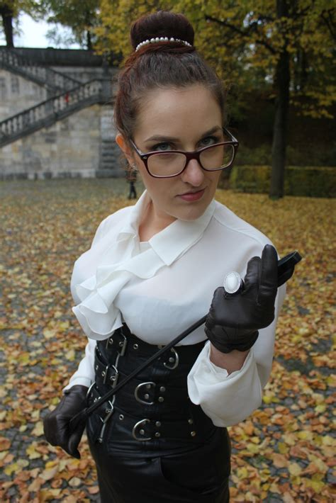 In Leather - Mistress Myra - The playful Madame