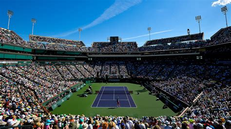 Indian Wells is a major tennis tournament which is played