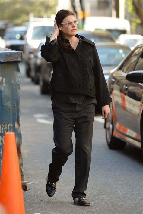 Linda Evangelista out in West Village -05 | GotCeleb