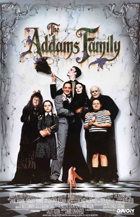 Addams Family (1991) | Best halloween movies, Family