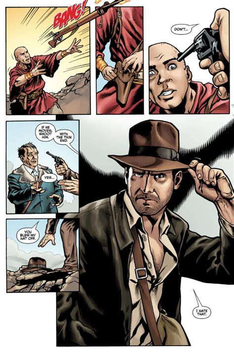 Indiana Jones and the Tomb of the Gods #2 :: Profile