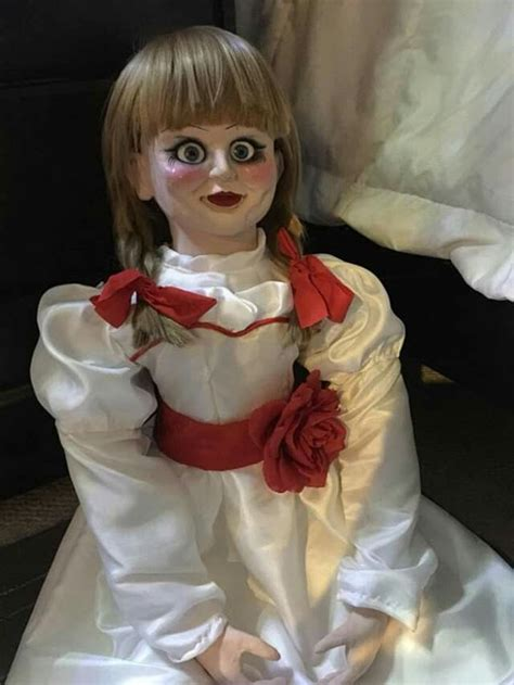 Life Size Annabelle Doll Replica Prop seen in Annabelle