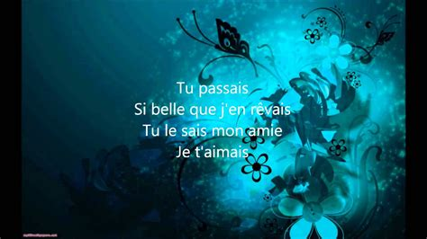 Zaz - Belle (Lyrics / Paroles) | Songs, Artist album, Lyrics