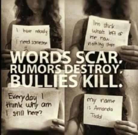 Bullying Words Hurt Quotes