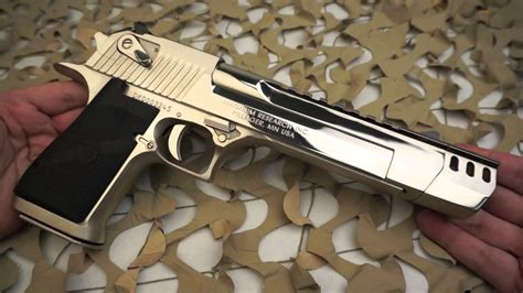 Magnum Research Polished Chrome Compensated Desert Eagle