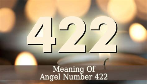 422 Angel Number - Guardian Angel Guide