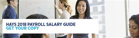 2018 Hays Payroll Salary Guide | Hays Specialist Recruitment