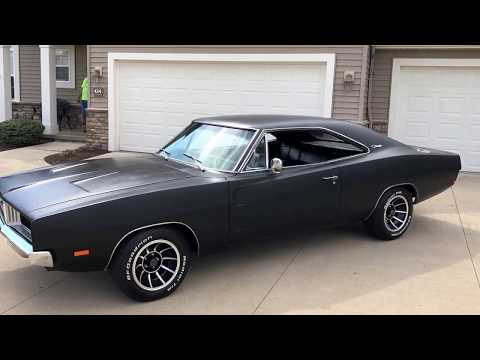 1969 DODGE CHARGER RT 440 MATCHING #'S MOTOR AND TRANNY