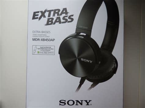 Sony MDR-XB450AP Extra Bass Smartphone Stereo Headphones