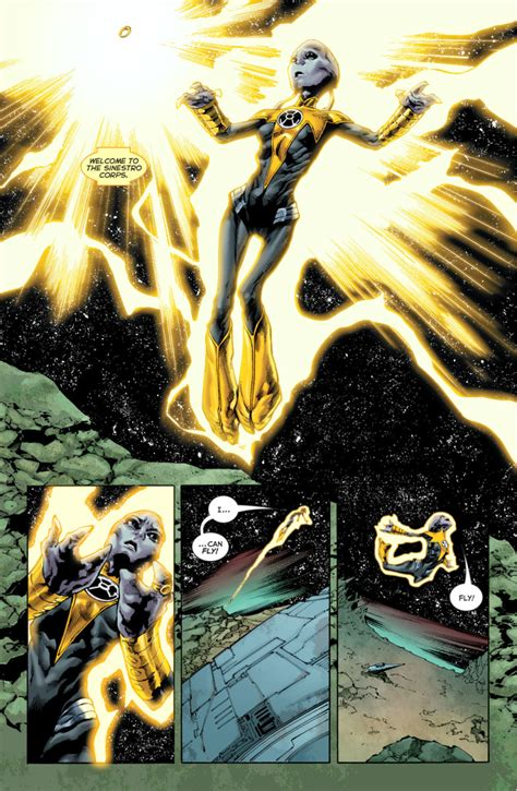 Nax Joins The Sinestro Corps – Comicnewbies