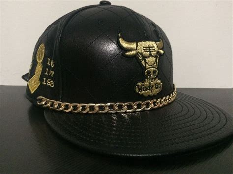 New Era Chicago Bulls Championship Quilted Leather