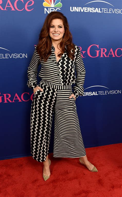 Megan Mullally and Debra Messing at NBC's FYC Event for