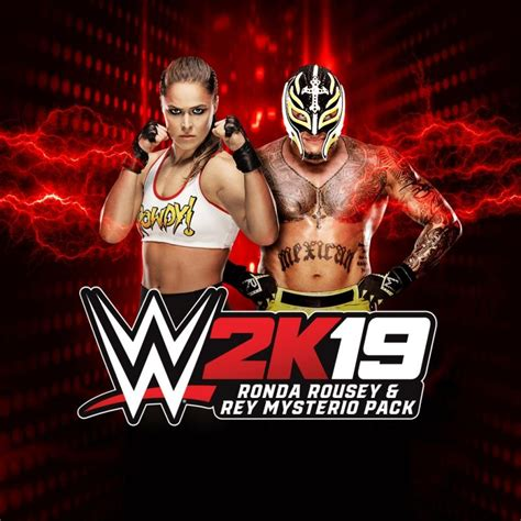 WWE 2K19: Rey Mysterio & Ronda Rousey Pack for PlayStation