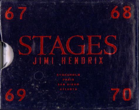 Jimi Hendrix Stages - Sealed US Promo 4-CD album set (522671)