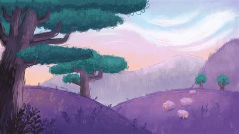 How to Create a Pastel Painted Landscape in Adobe Photoshop