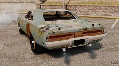 Dodge Charger RT 1969 rusty v1