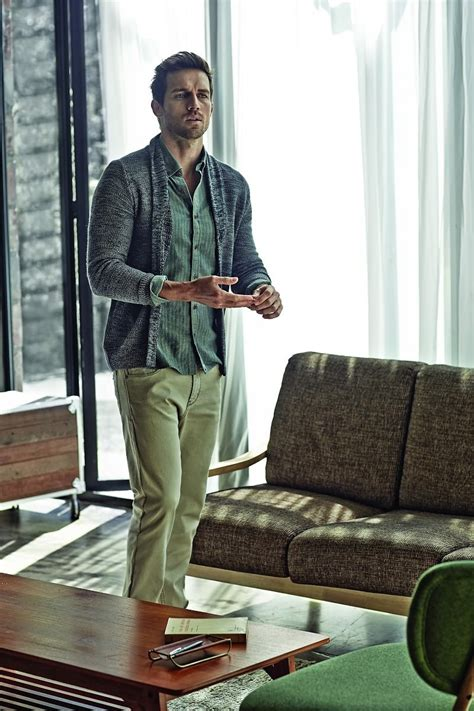 Andrew Cooper Models Classic Styles for Olzen Fall/Winter 2015