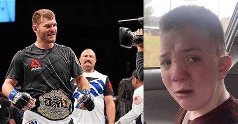 Heavyweight Champ Stipe Miocic Wants Bullied Keaton Jones