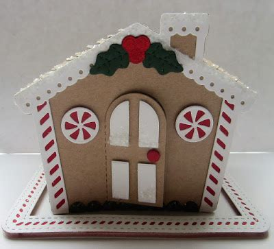 PartiCraft (Participate In Craft): 3D Gingerbread House