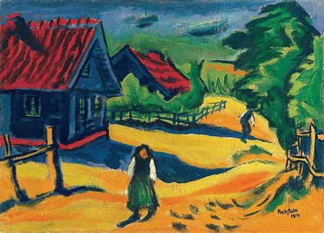 Max Pechstein biography, birth date, birth place and pictures