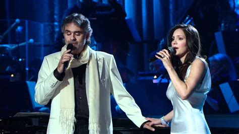 Andrea Bocelli and Katharine Mcphee - The prayer (Live
