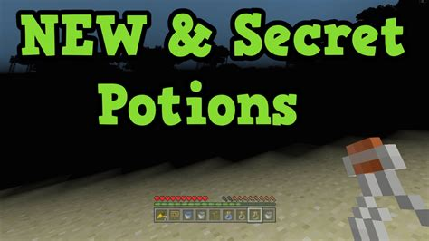 Minecraft Xbox 360 / Xbox One - New Potions & SECRET