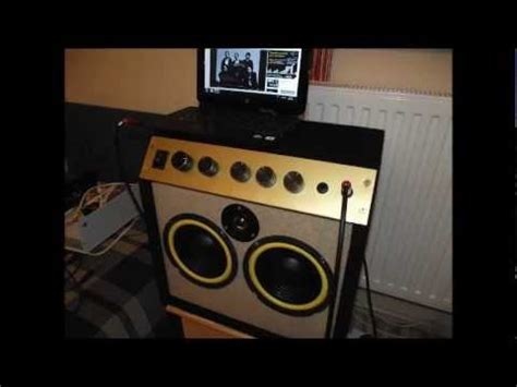 Home made 60W guitar amplifier - YouTube