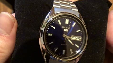 SEIKO 5 Automatic SNXS77 UNBOXING - YouTube