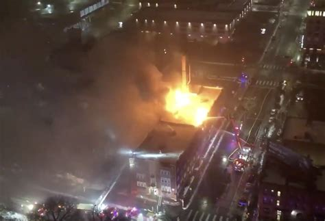 Massive fire at Francis Drake Hotel apartments in downtown