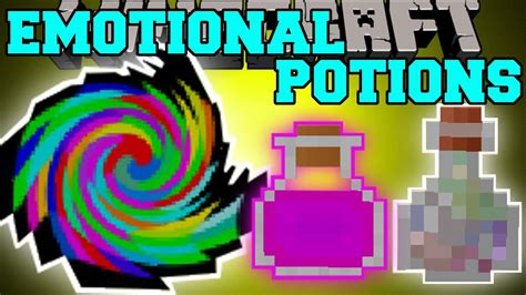 Minecraft: EMOTIONAL POTIONS (POTIONS HAVE FEELINGS TOO