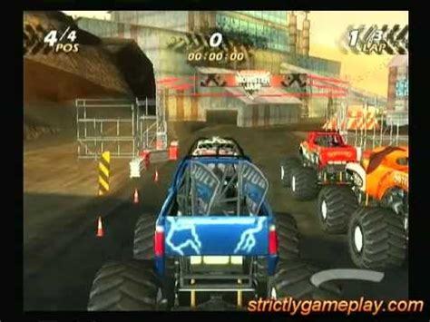 Monster Jam PS2 Gameplay - YouTube